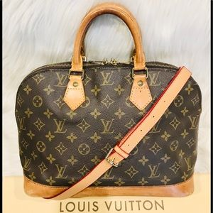 Authentic Louis Vuitton Alma  #3.4z